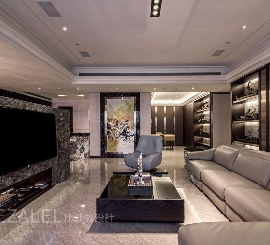 客廳裝潢設計-新莊李宅