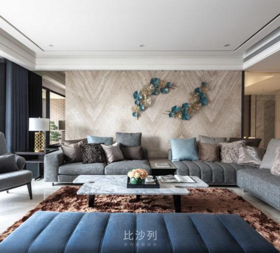 客廳裝潢設計-桃園 中悅御之苑