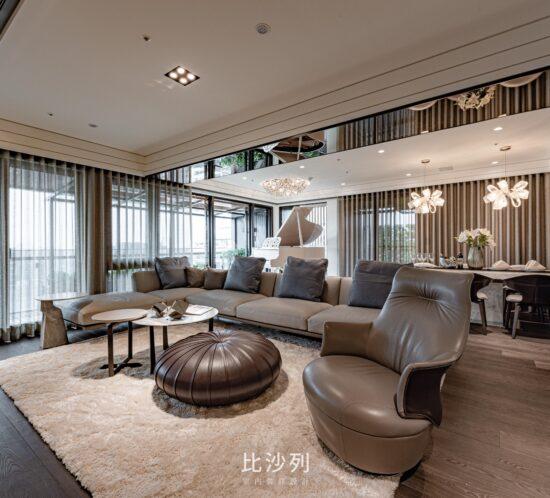 客廳裝潢設計-景美林宅